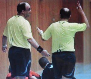falsche sperre handball