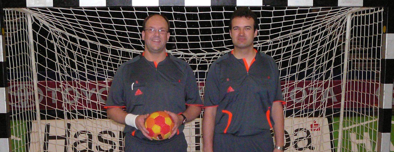 2009 mit Sven H. Pokalfinale Betriebsport in der O2-World
