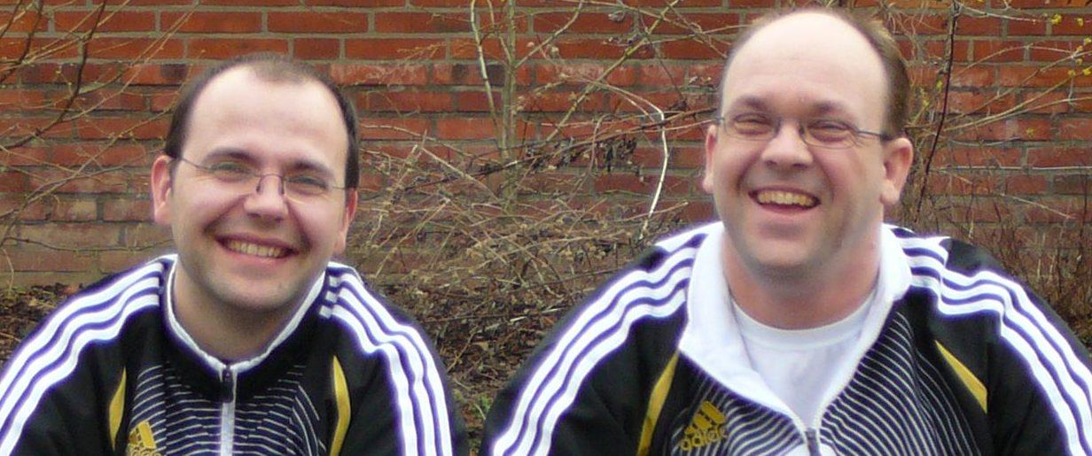 2008 mit Gerd in Sülfeld