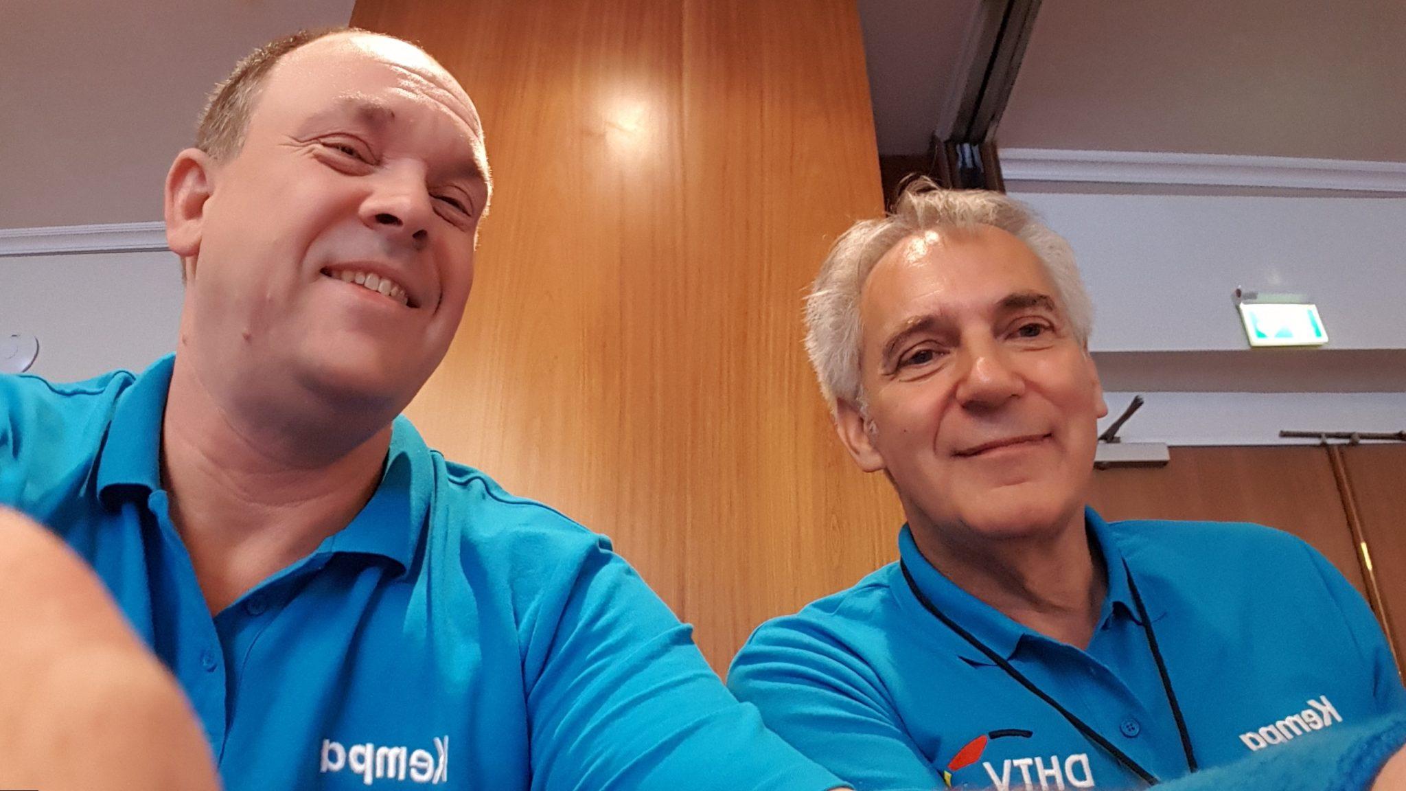 2017 mit Peter Güßregen bei den 2. Hans Thomas Schiedsrichtertage in HH